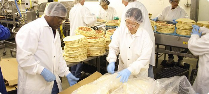food manufacturing plant