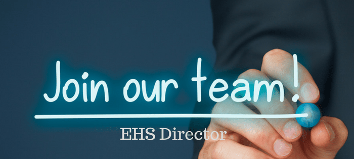 Join Our Team EHS Director